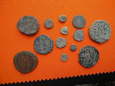 Lot of Uncleaned Ancient coins, Bronze coins