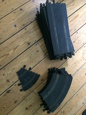 Job Lot Classic Scalextric Straights And Bends Track
