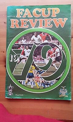 1979 F.A.CUP review programme