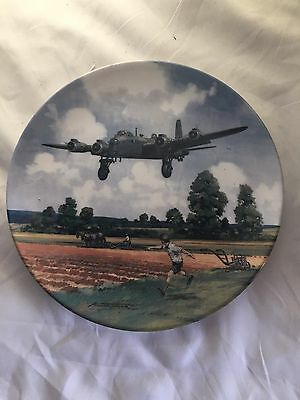 Royal Doulton Heroes Of The Sky 'Stirling Home Run' Limited Edition Plate