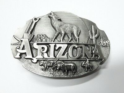 Superb Arroyo Grande Buckle Co. American Belt Buckle Arizona 1990