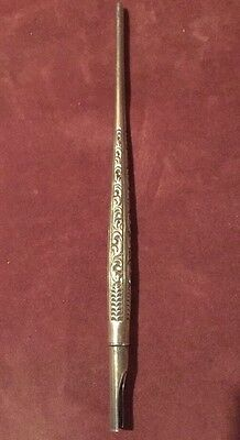 Rare Antique Gorham Solid Sterling Silver Dip Pen - Beautiful!