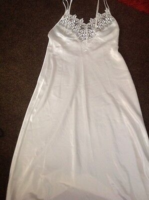vintage cream st michael night dress size 14