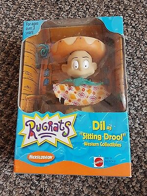 """Rugrats collectible """"Dil as sitting drool"""" BNIB"""