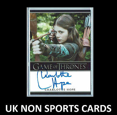Game of Thrones Season 5 Autograph Card Charlotte Hope as Myranda