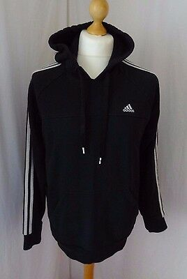 adidas Men's Black Hoodie Pull On Size L Large