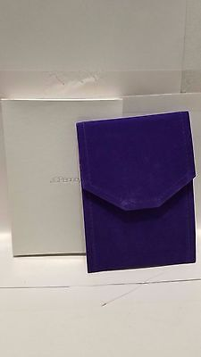 Lot Of 3 JCPenney Travel Necklace Case Purple New In Box