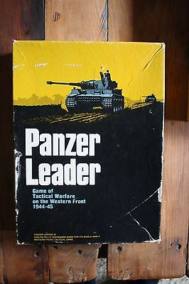 Rare Vintage Avalon Hill Gmae, Panzer Leader, Complete, 1974 edition