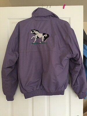 Loveson Jacket Size M Embroidered Horse On Back