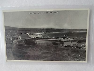 Isle of Man Port St Mary old postcard