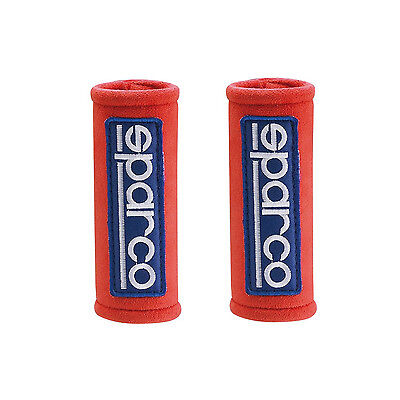 Genuine Sparco MINI Shoulder Pads red