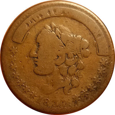 Millions For Defence Not One Cent 1837 Hard Times Token TC-482544; Rulau HT 44