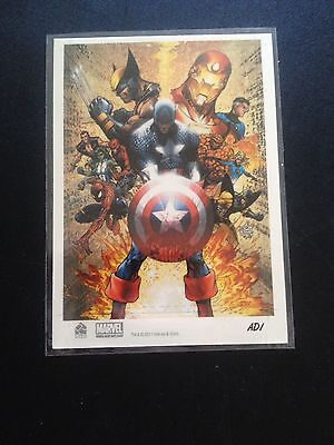 Marvel Artist Cover Card