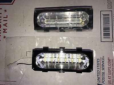 Whelen Liberty 500 Series LIN6 LED WHITE CLEAR Newest Version Pair Warranty ⬜️⬜️