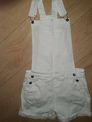 dungarees girls 13-14 white jeans