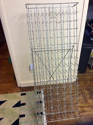 Vintage Pepsi Cola Soft Drink Vendor Free Standing Wire 96 Bottle Return Rack