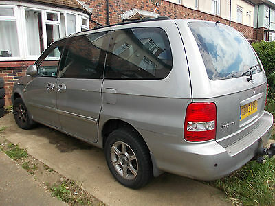 Kia Sedona 2.9 CRDi Automatic 2003 Spares or Repair