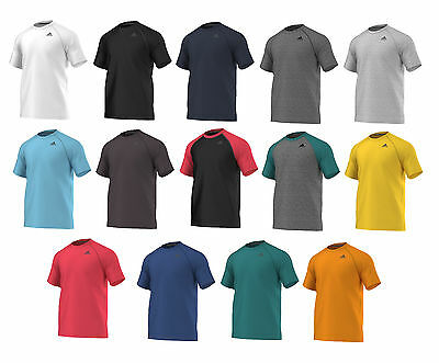 Men's Adidas Ultimate Tee Short Sleeve Athletic Sport T Shirt Asst Colors XS-XXL