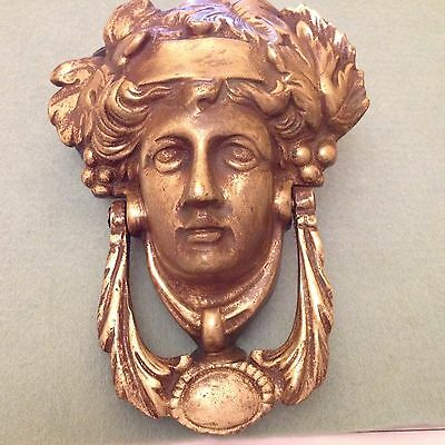 Antique door knocker.