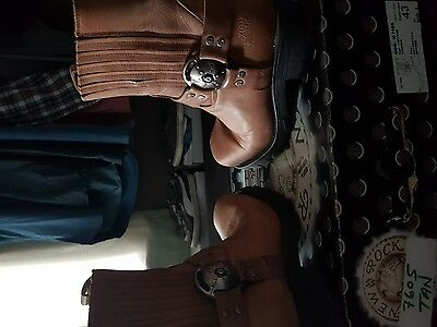 mens new rock boots size 10