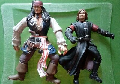 pirates of the caribbean figures / Johnny Depp