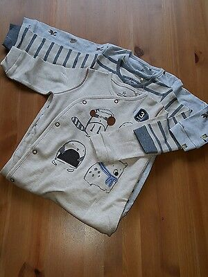 Next 3 Pack  Boys Sleepsuits 6-9 Months