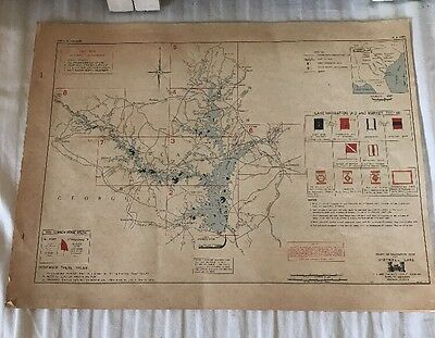 Vtg Hartwell Lake Project Construction Info US Army Corps Of Engineering 1971