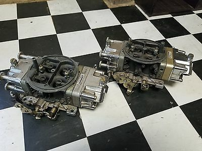 Twin 750 alky carbs