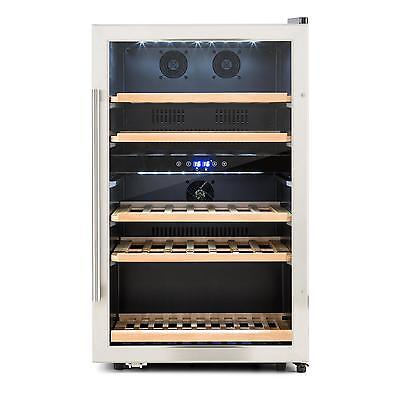 Klarstein Wine Refrigerator 41 Bottles 135 Litre Glass Door Restaurant Shop Bar