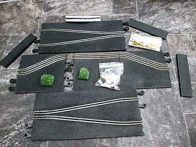 SCALEXTRIC VINTAGE GOODWOOD CHICANE SET.  1960's PT/77