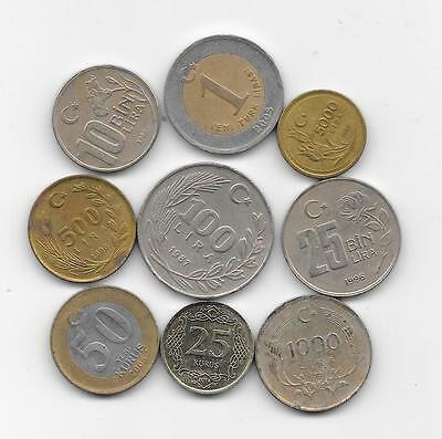 Lot Coins  TURKEY