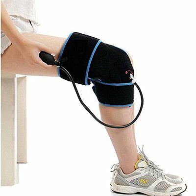 Cold Therapy Knee Wrap With Compression and Extra Ice Gel Pack by SimplyJnJ