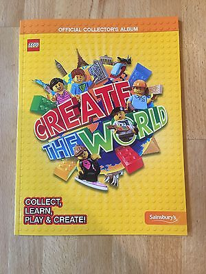 Lego Create The World Trading Cards Book, Brand New, Sold Out At Sainsbury's