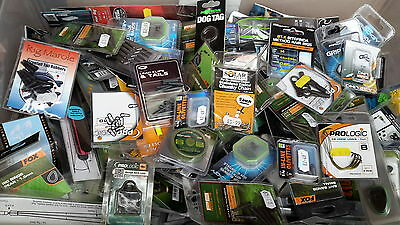 50 BRAND NEW assorted FISHING TACKLE ITEMS - ALL GOOD BRANDS - CLEARANCE