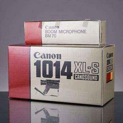 MINT Canon 1014 XL-S Super 8 Camera tested 8mm