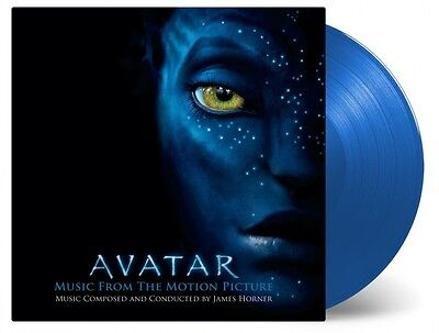 Avatar - James Horner 2x 180g BLUE COLOURED vinyl LP IN STOCK NEW/SEALED Cameron