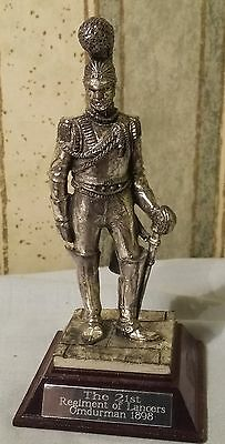 royal hampshire sculpted by r hardy the 21st regiment of lancers omdurman 1898