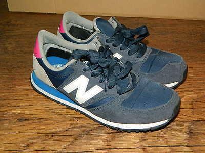 womens navy NEW BANALCE trainers size uk 5 VGC