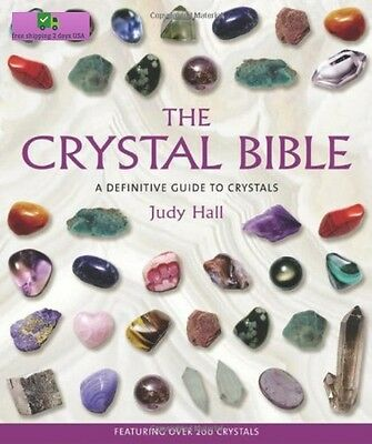 The Crystal Bible Paperback – May 11, 2003 by Judy Hall (Author) free ship