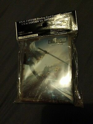 Final Fantasy Trading Card Game Sleeves VII Advent Children Cloud/Sephiroth TCG