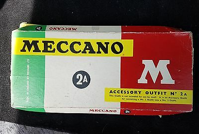 vintage meccano accessory outfit 2A complete with box