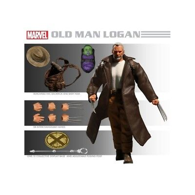 Wolverine Old Man Logan Cloth MEZCO TOYS