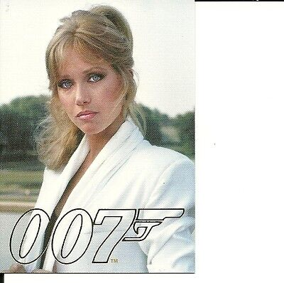 James Bond 007 Gold Gallery - GG29   Tanya Roberts as Stacy Sutton