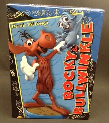 Rocky And Bullwinkle Maquette Electric Tiki Design #283/500 w/COA Mint