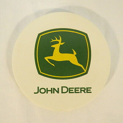John Deere NatureStone Coasters with Natural Cork Back Set of 4