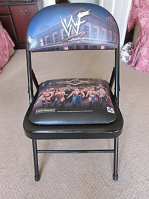 WWF Royal Rumble 2001 Pay Per View PPV Ringside Folding Chair Rare WWE