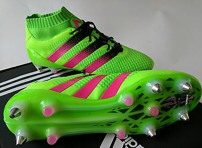 adidas Ace 16.1 SG Football Boots primeknit US11 AQ2545 Soccer Rugby