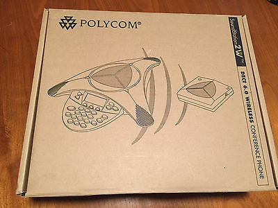 Polycom Soundstation 2W Wireless ConferenceTelephone DECT 6.0 Complete