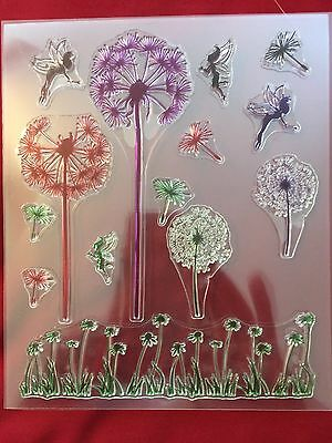 Wildflowers and Fairies Stamp Set
