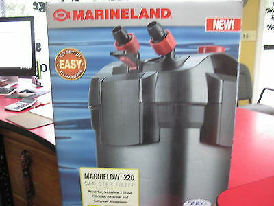 Marineland Magniflow 220 Aquarium Canister Filter - Up To 55 Gal. Fish Tank